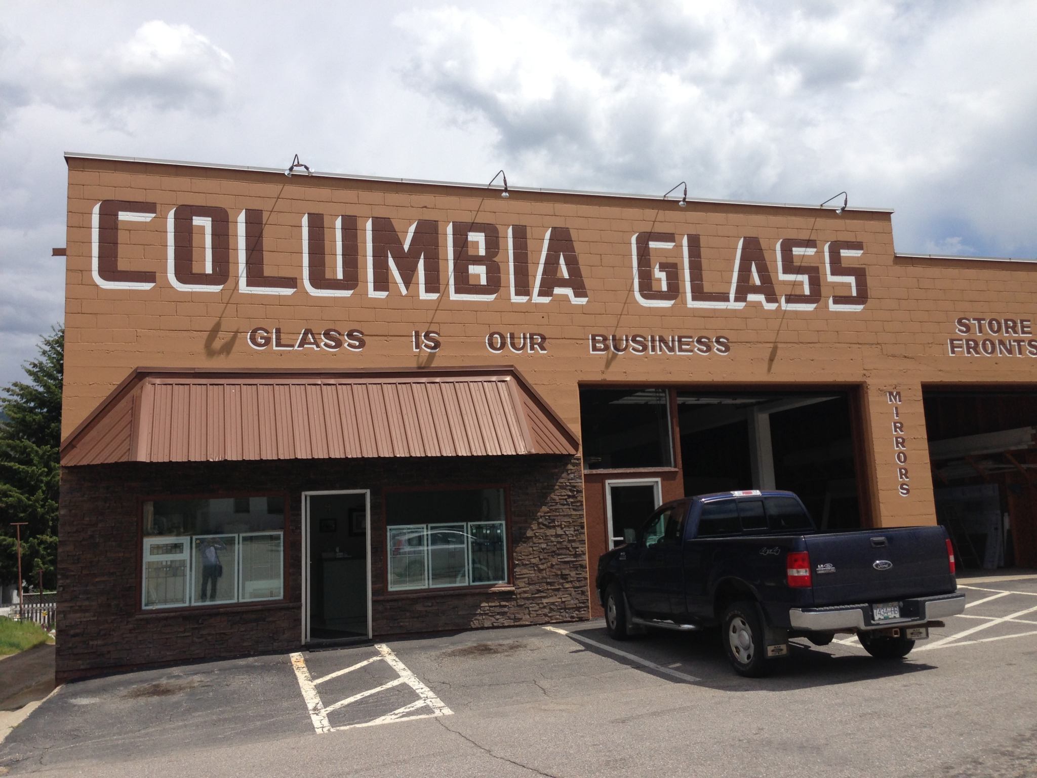 Columbia Glass Ltd in Trail