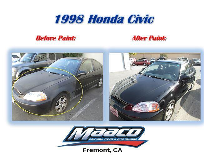 Auto body repair car painting maaco las vegas fremont for Painted auto body parts reviews