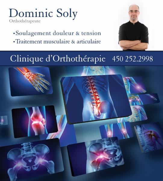 Dominic Soly Clinique d'Orthothérapie et de Massothérapie