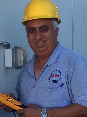 Ayoub Jaberi is our senior electrician and has been with the company since 1999. Ayoub is multi lingual speaking English, Farsi & other Middle Eastern dialects.
