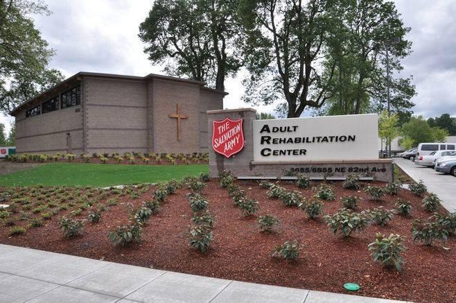 the salvation army adult rehabilitation center in portland