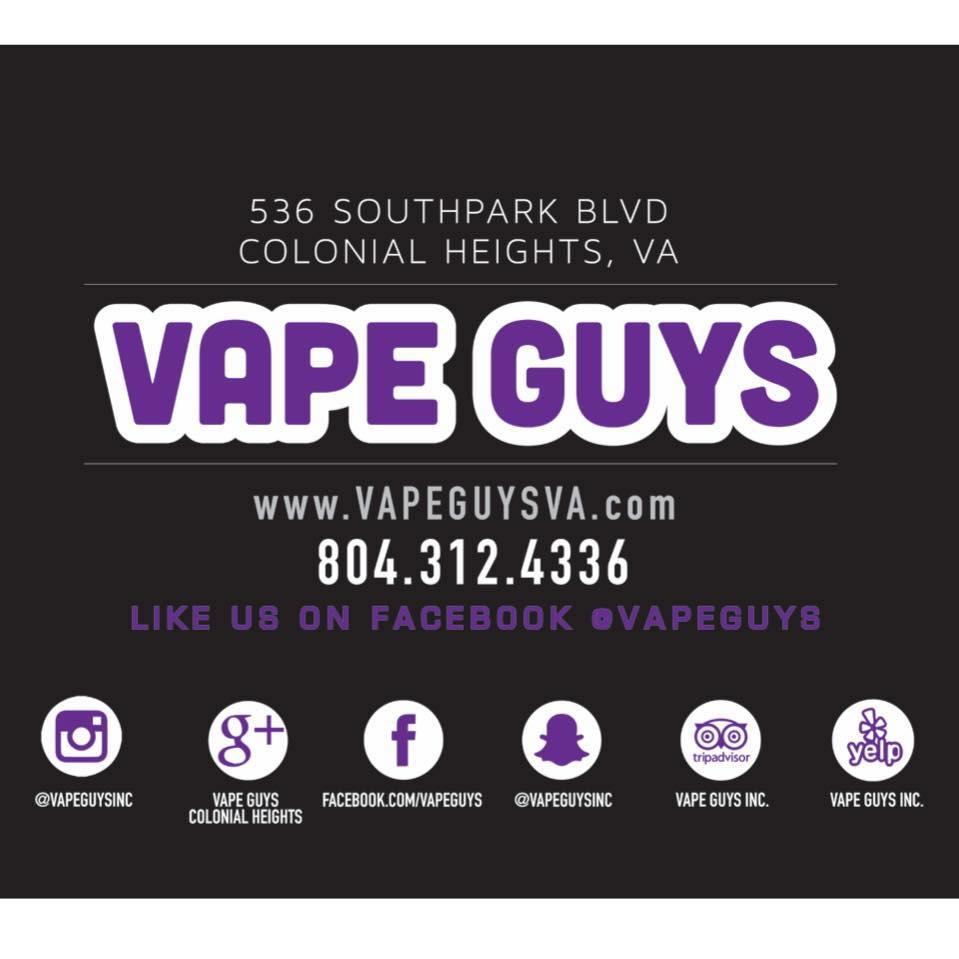 Vape guys - vape shop and lounge - Colonial Heights, VA 23834 - (804)312-4336   ShowMeLocal.com
