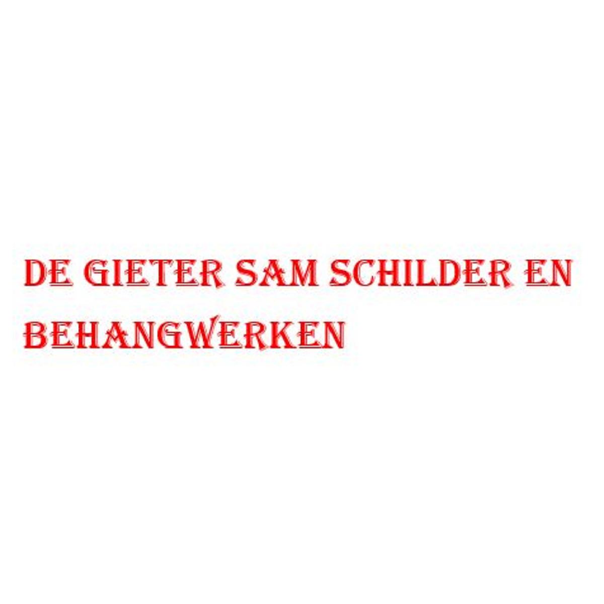 De Gieter Sam Schilder en Behangwerken