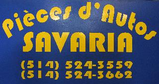 Pièces D'Auto Savaria à Montréal