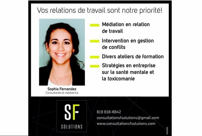 Consultation SF Solutions