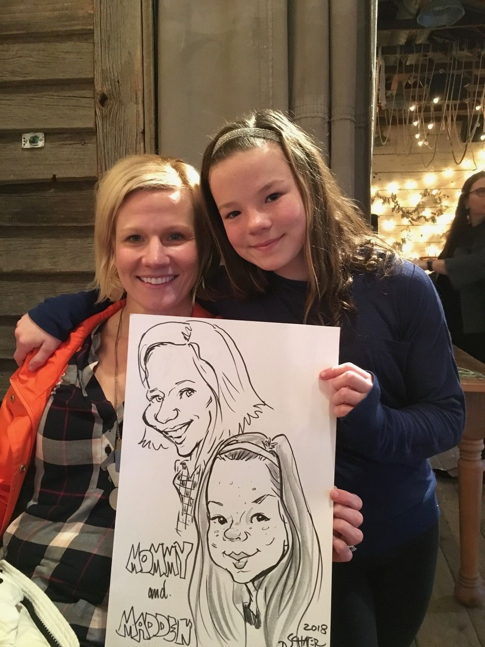 Art Girl Caricatures by Debbie Schafer image 17