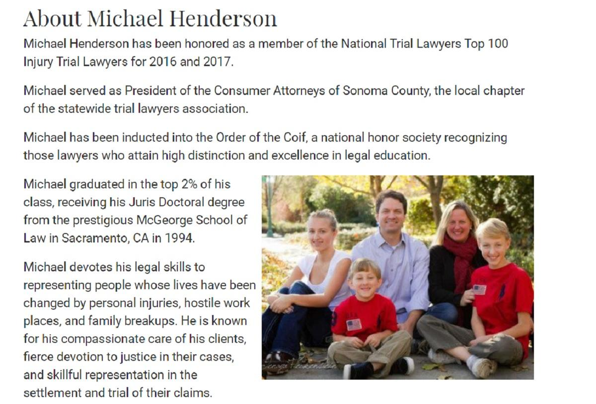 Henderson Law in Santa Rosa, CA, photo #28