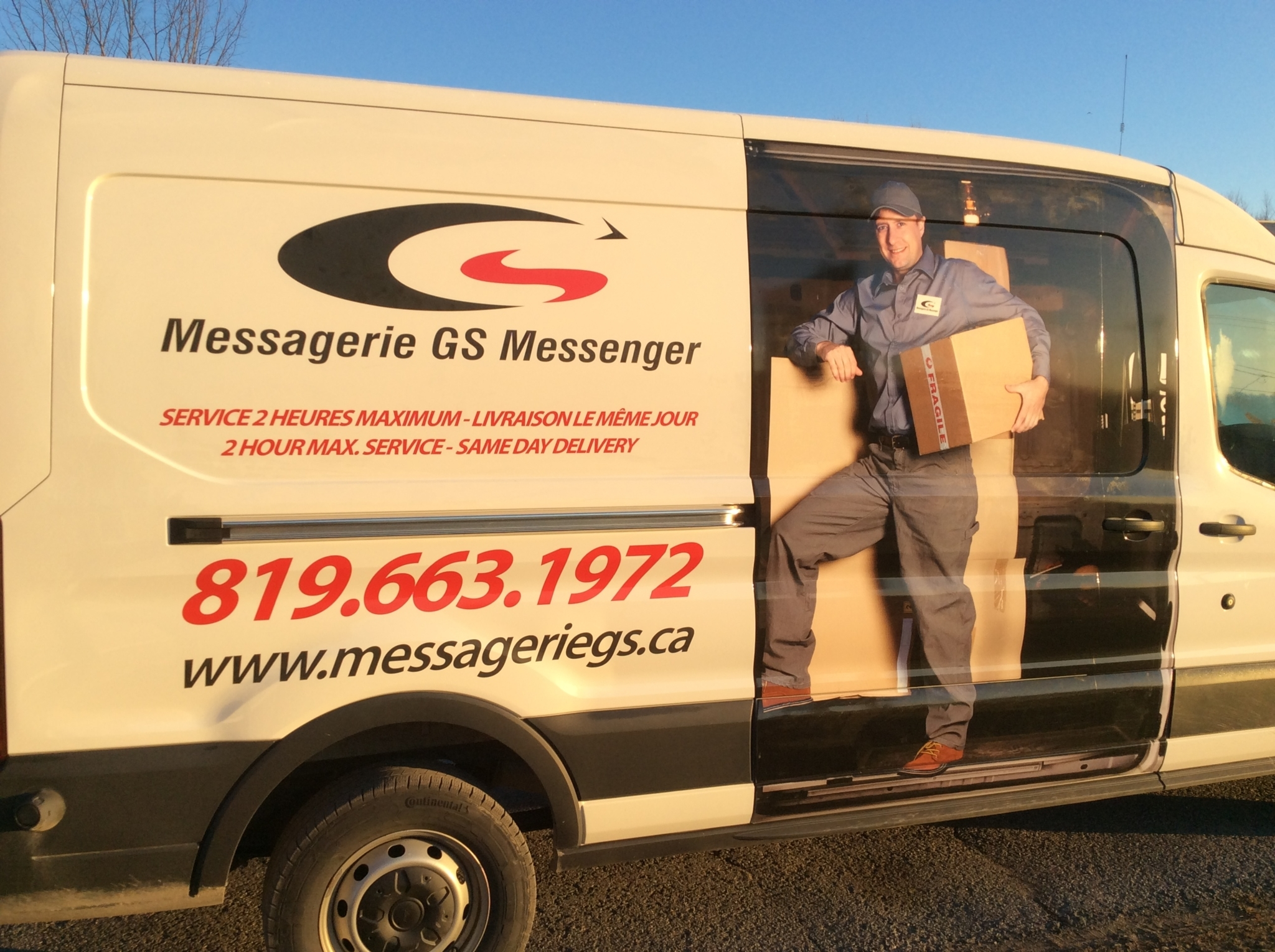 Messagerie GS Messenger à Gatineau