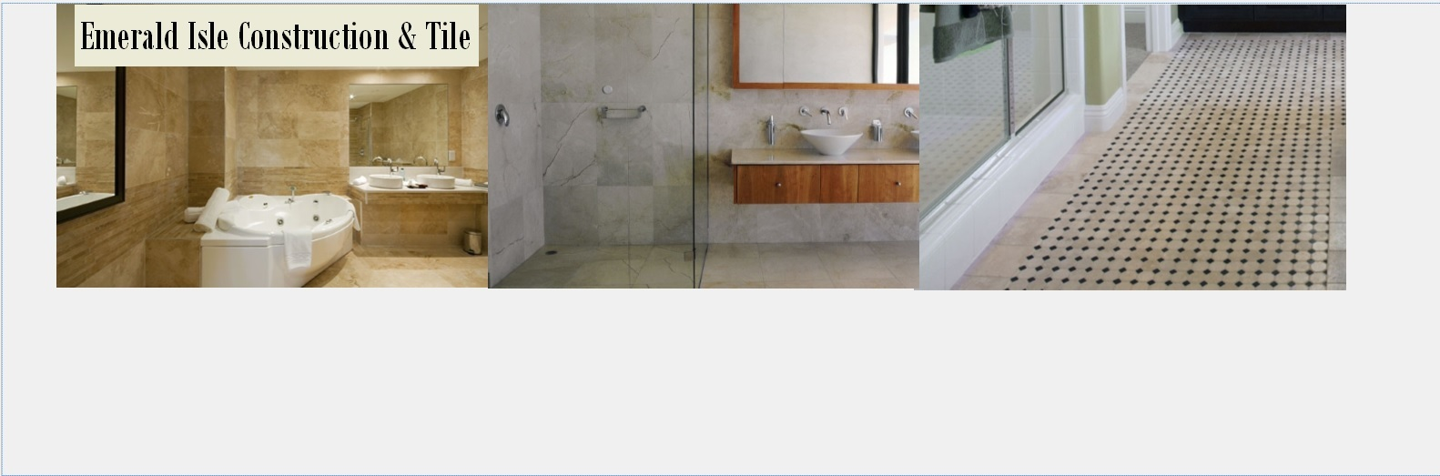 Emerald Isle Construction & Tile image 1