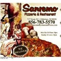 Sanremo Pizzeria & Ristorante