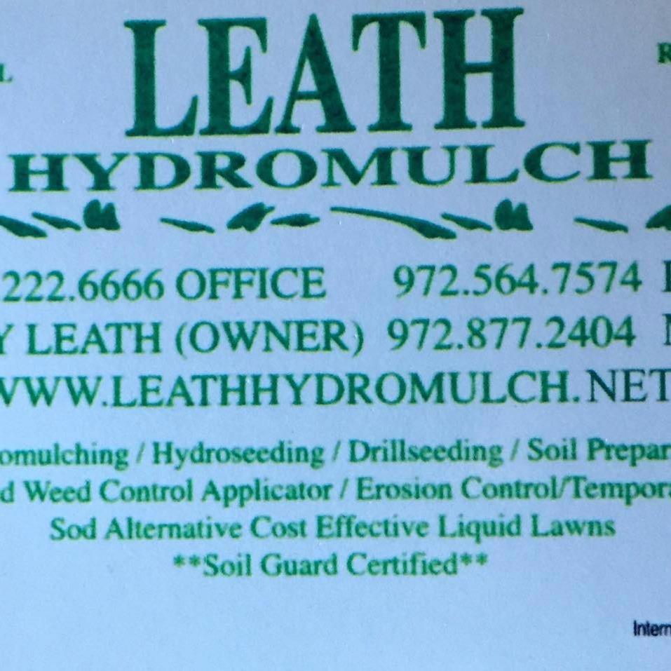 Leath Hydromulch & Environmental Services