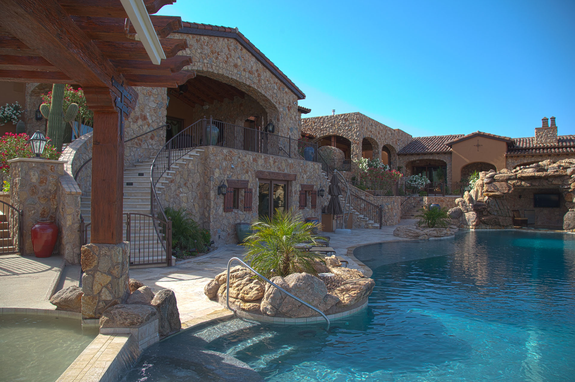 No limit pools spas in mesa az 602 421 9 for Pool fill in mesa az