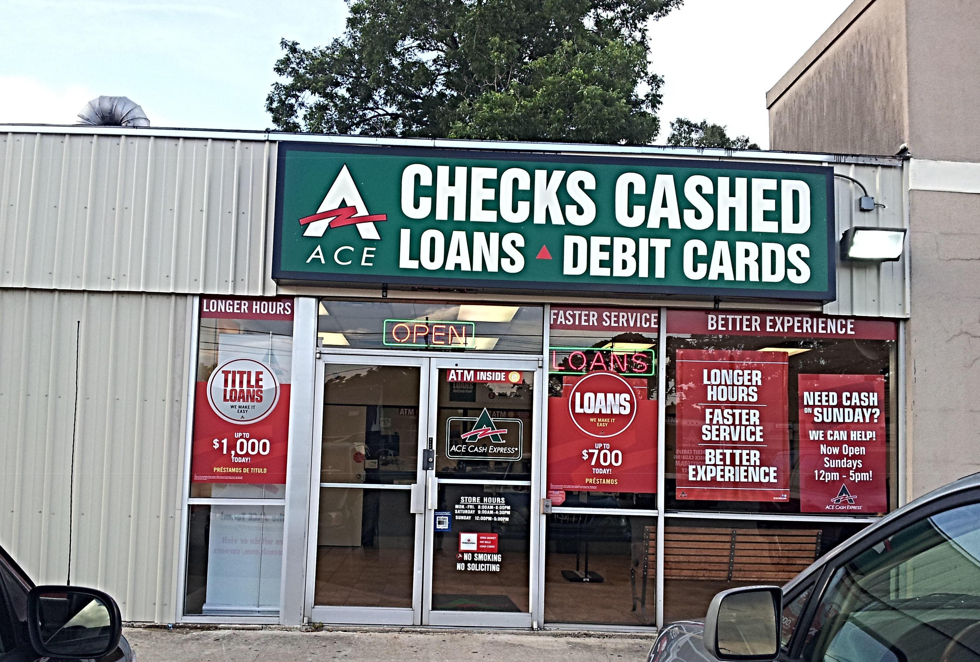 Ace cash express laplace la business directory - Cash express la valentine ...