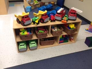 Our Discover Preschool Classroom loves trucks! Come drive with us.