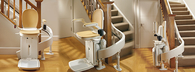 Los Angeles indoor residential home stairlifts