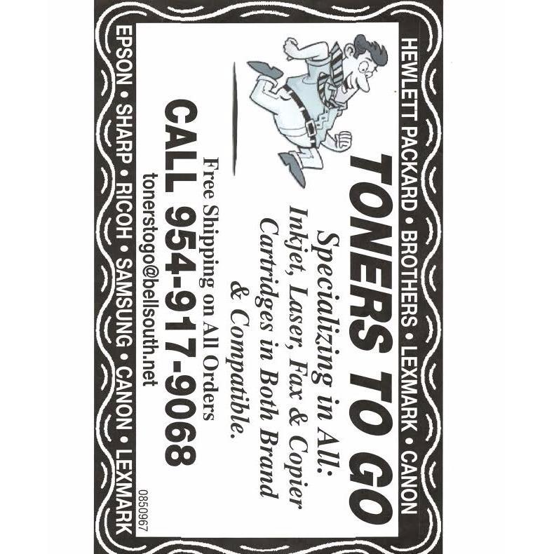 Toners To Go, Inc.