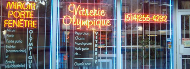 Vitrerie Olympique 1981 Inc à Montréal