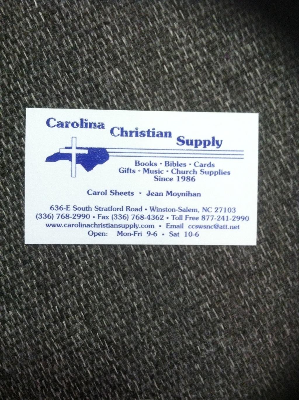 Carolina Christian Supply image 4