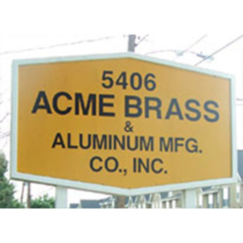Acme Brass & Aluminum Mfg.