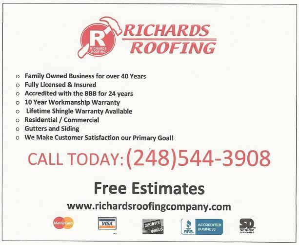 Richards Roofing Company image 8