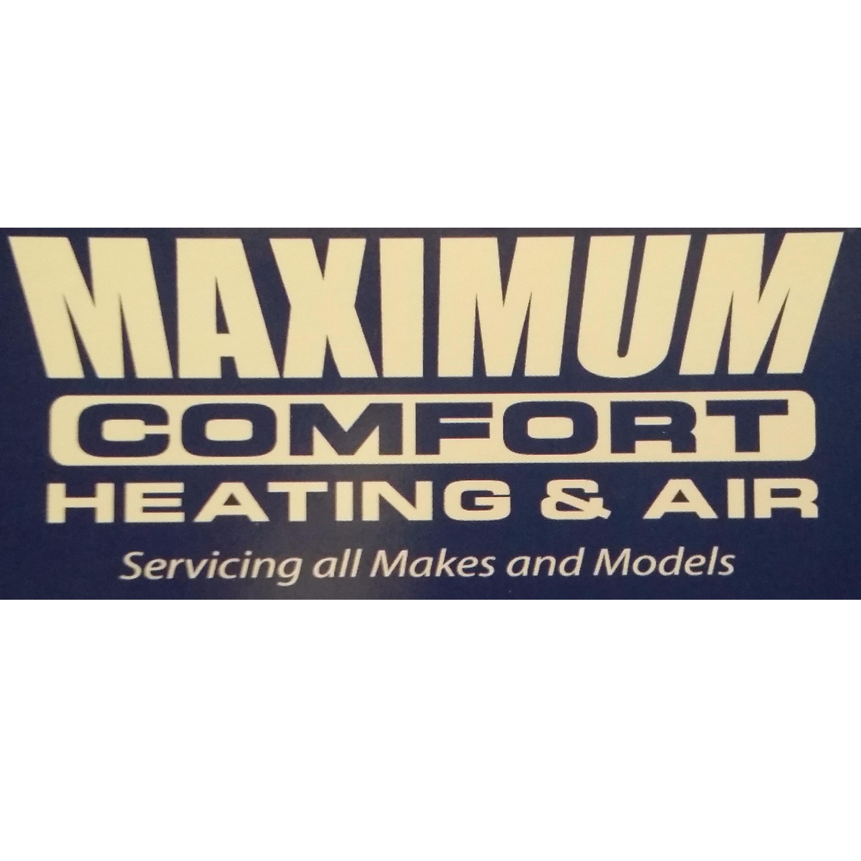 Maximum Comfort Heating & Air LLC