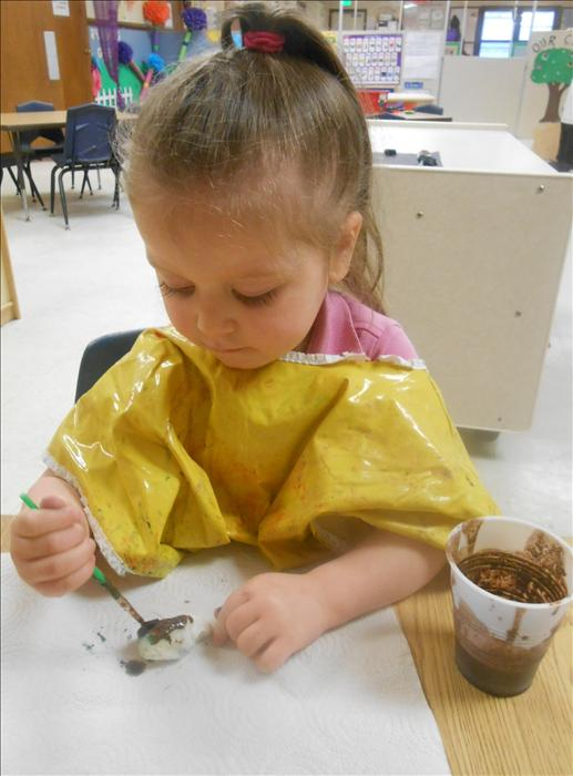 This is What Learning Looks Like: Nurturing creativity and developing an appreciation for art using various items.