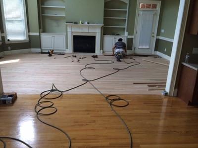 Zack Hardwood Flooring Refinishing image 1