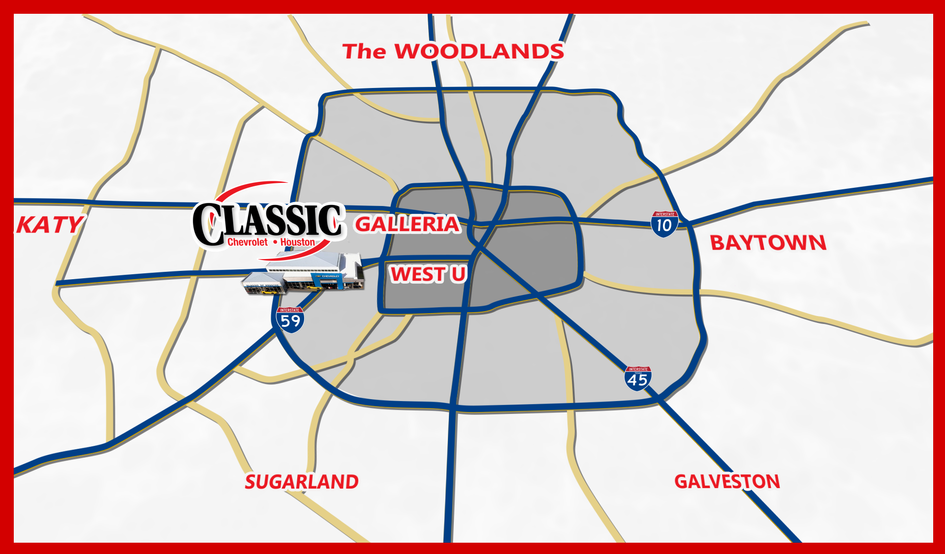 Classic Chevrolet of Houston 7000 Southwest Freeway Houston ...