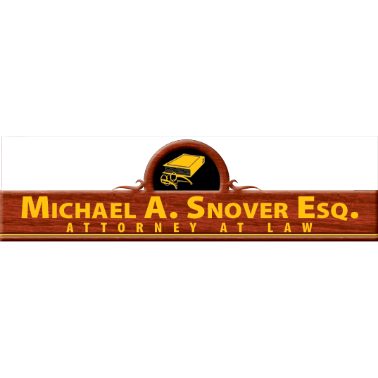 Michael A. Snover Law Offices - ad image