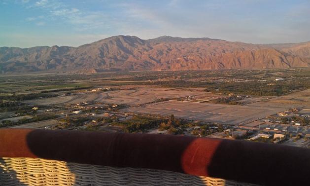Balloon Above the Desert image 1