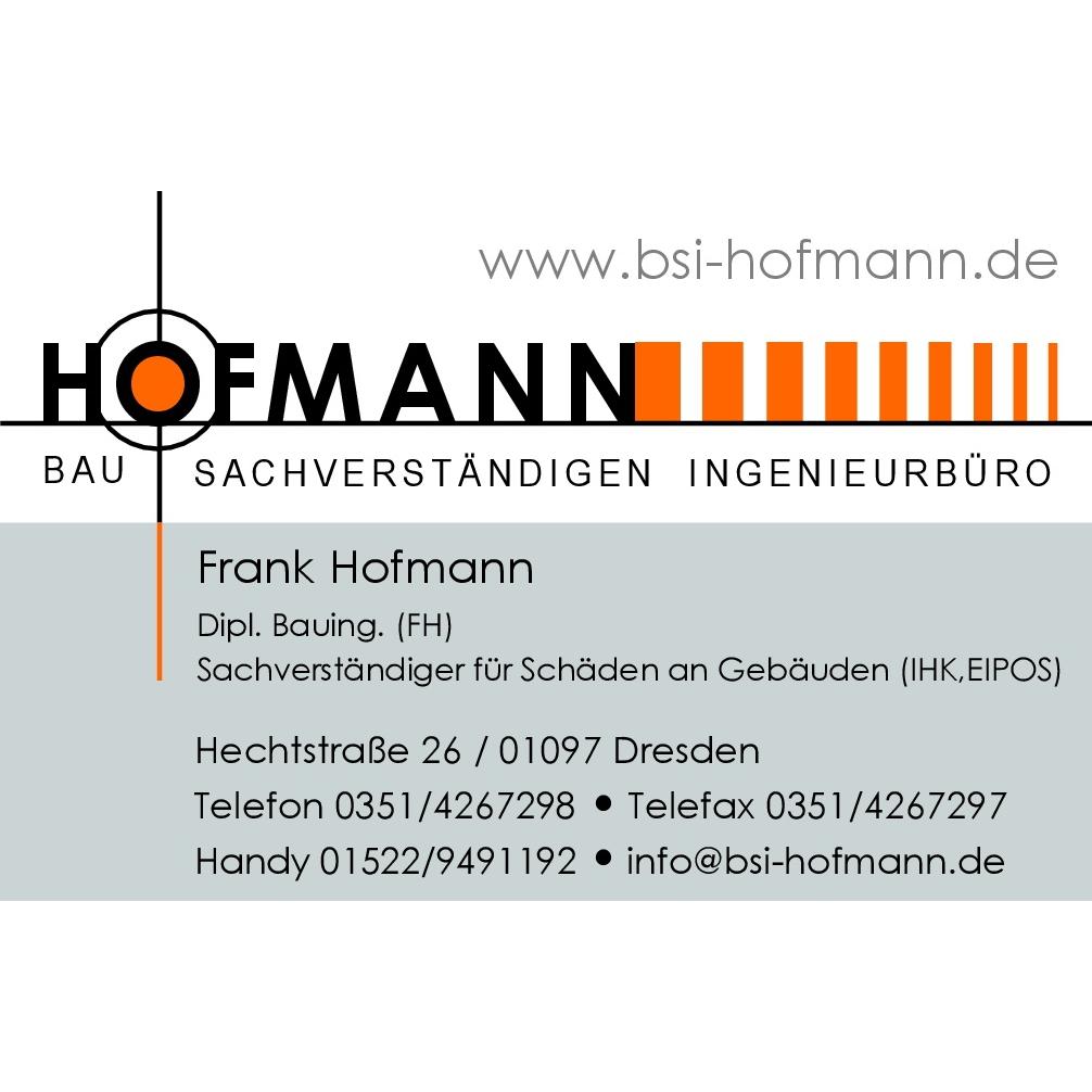 Bild zu Bau-Sachverständigen-Ing.-büro Hofmann in Dresden