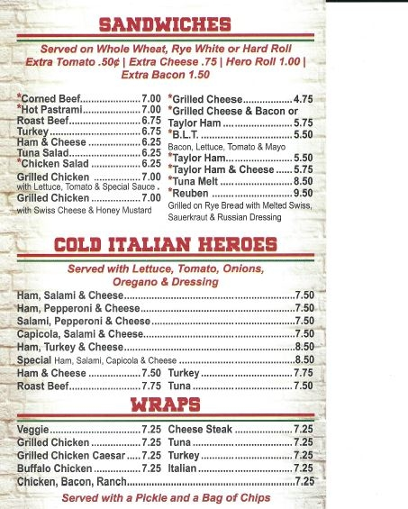 Restaurant menu, map for Pizza Plaza of Warminster located in , Warminster PA, W Street football-watch-live.mle: American, Pizza.