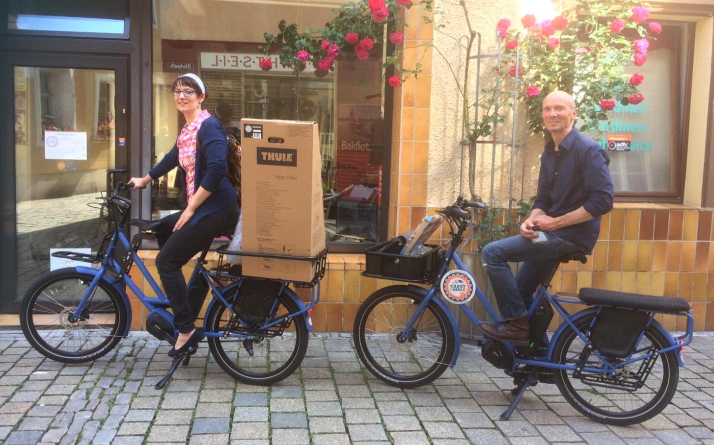 Die italienische Lastenrad-Marke VELOE ist unser absoluter Renner unter den kompakten Lastenfahrrädern aus dem Midtail-Segment.
