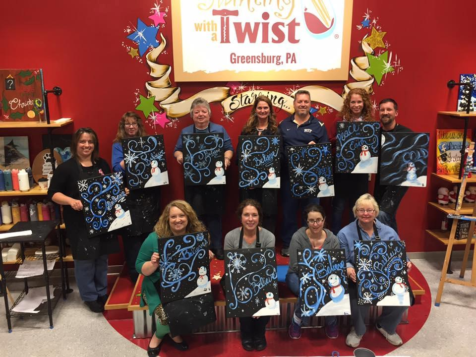 Painting with a twist coupons near me in greensburg 8coupons for Painting with a twist chicago