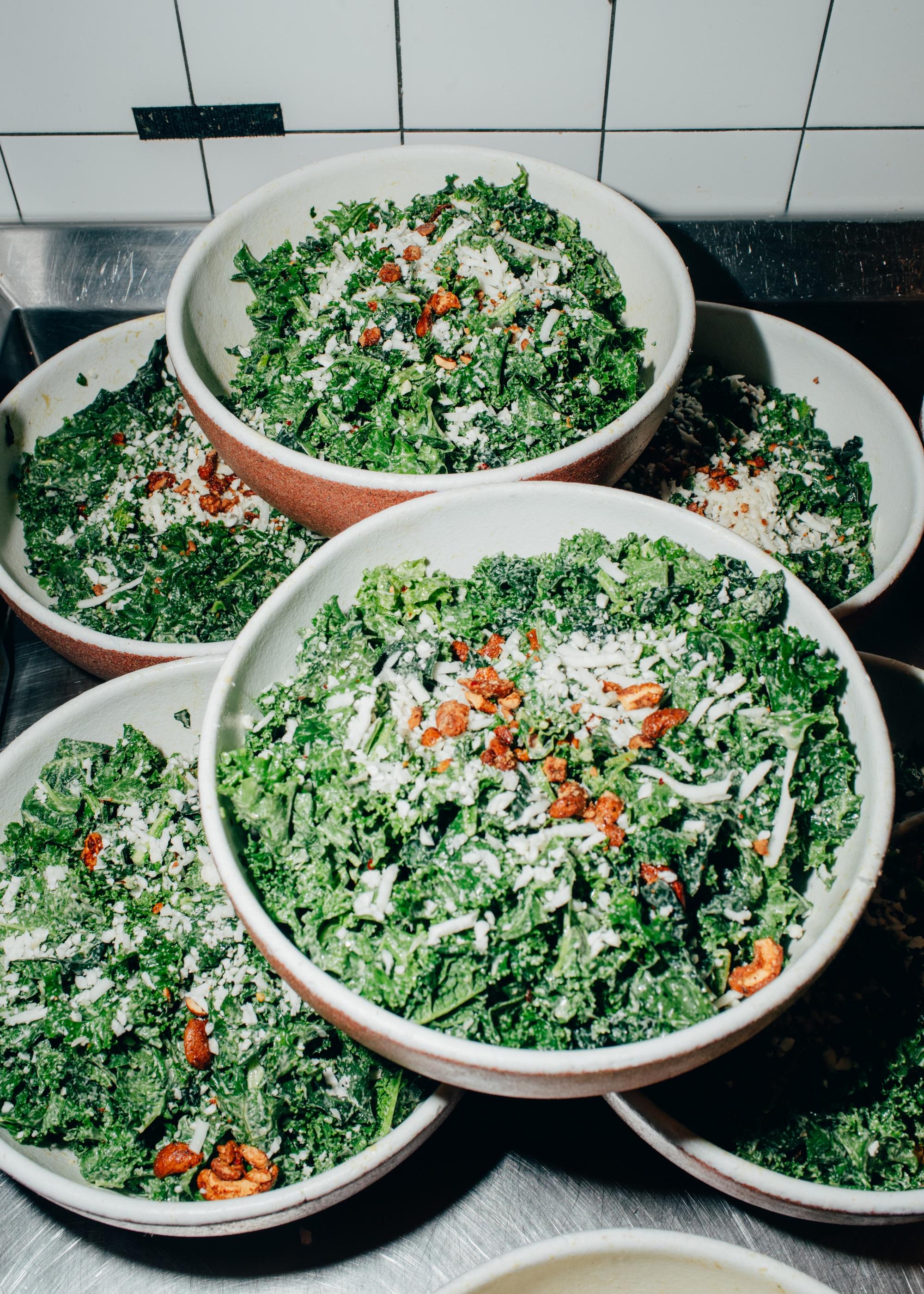 Cashew Kale Ceasar