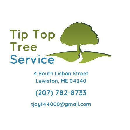 Tip Top Tree Service - Lewiston, ME 04240 - (207)782-8733 | ShowMeLocal.com