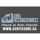 ASR Construction Fissure de Fondation et Drain Francais
