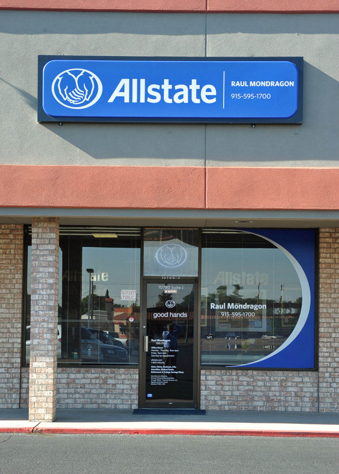 Allstate insurance agent raul mondragon ii coupons el for Allstate motor club number