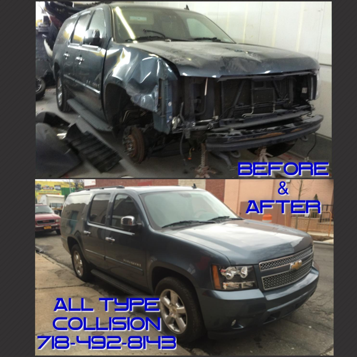 ALL TYPE COLLISION & REPAIRS INC.