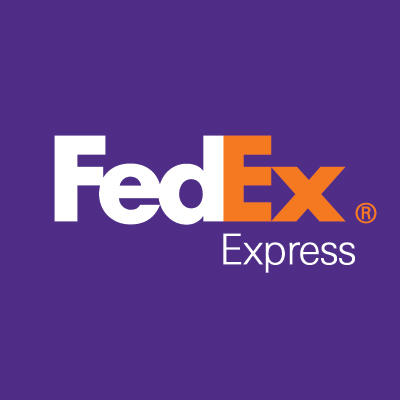 FedEx World Service Center Logo