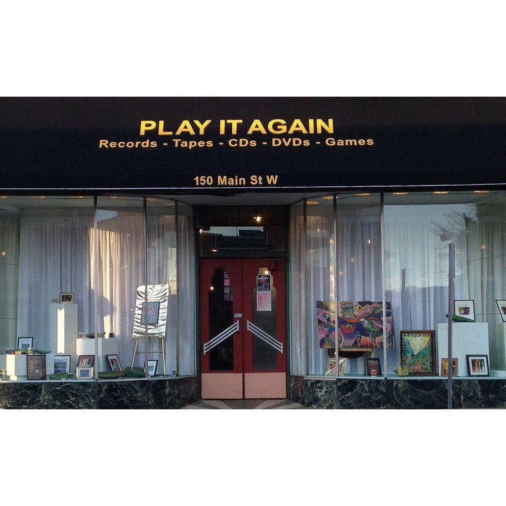 Play it Again Records Tapes Cd's &Dvd's