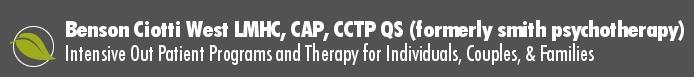 Kimberly S Benson LMHC CAP CCTP