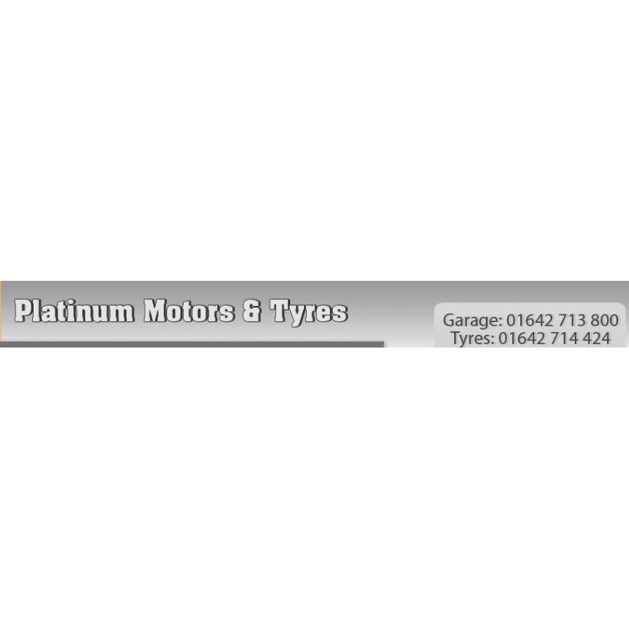 Platinum Motors & Tyres - Stokesley, North Yorkshire TS9 7AE - 01642 714424 | ShowMeLocal.com