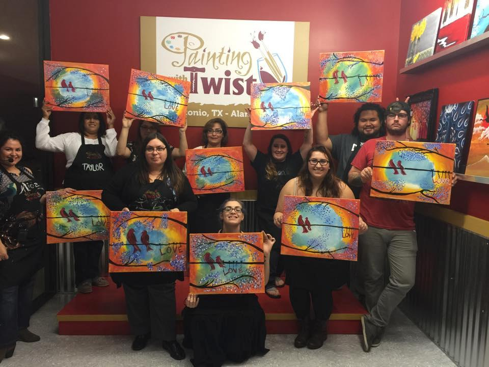 painting with a twist in san antonio tx 78209