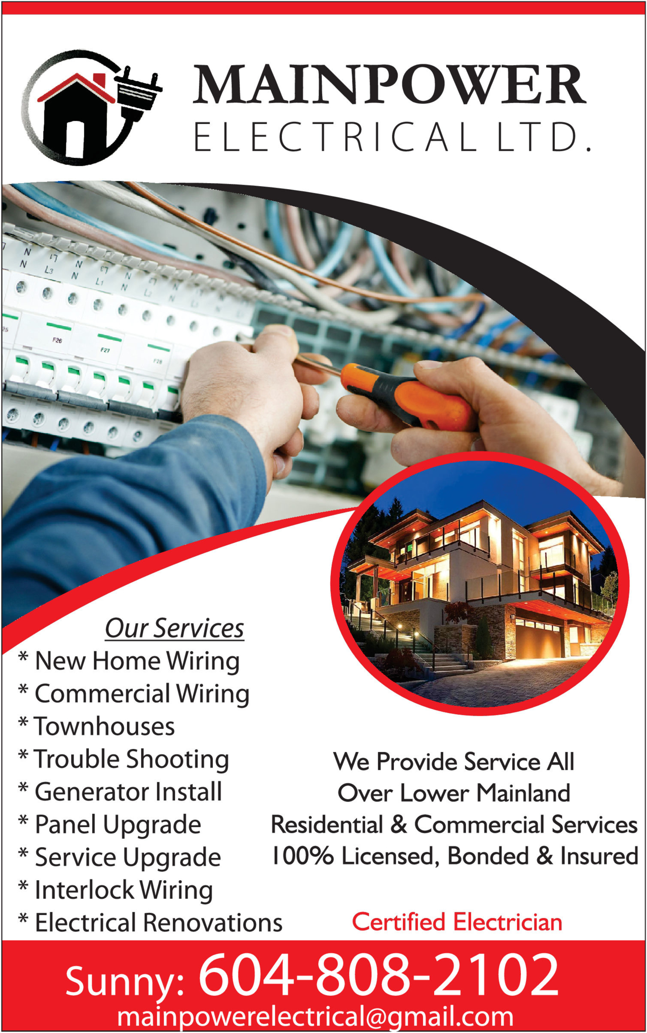 Mainpower Electrical Ltd in SURREY
