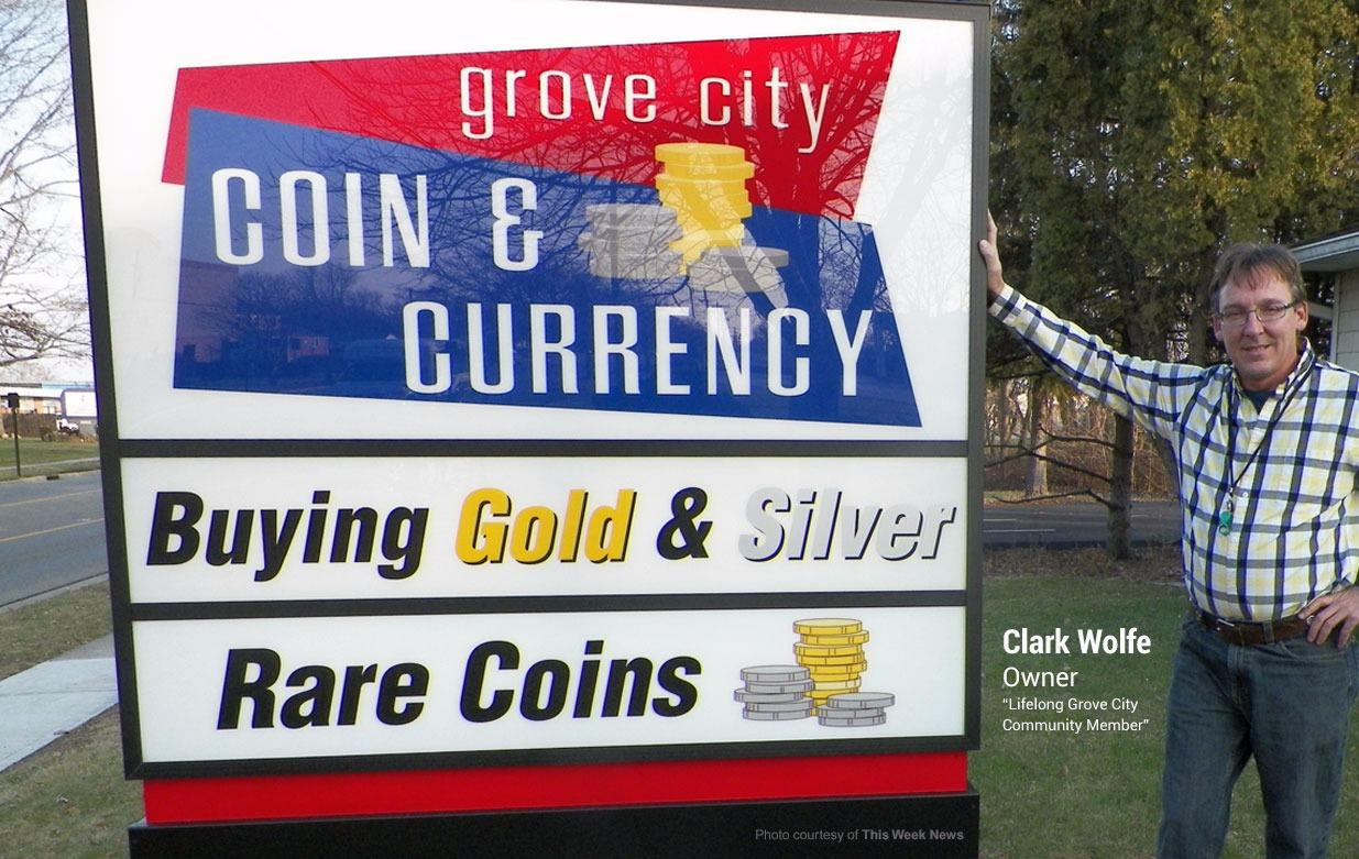 Grove City Coin & Currency