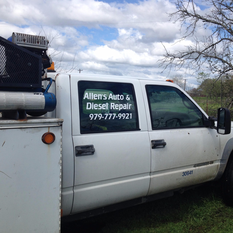 Allen Auto Diesel Repair.