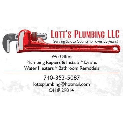 Lott's Plumbing, LLC - Minford, OH - Plumbers & Sewer Repair