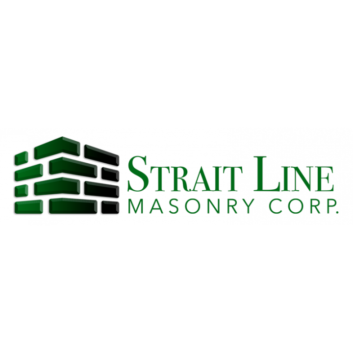 Strait Line Masonry Corp. Logo