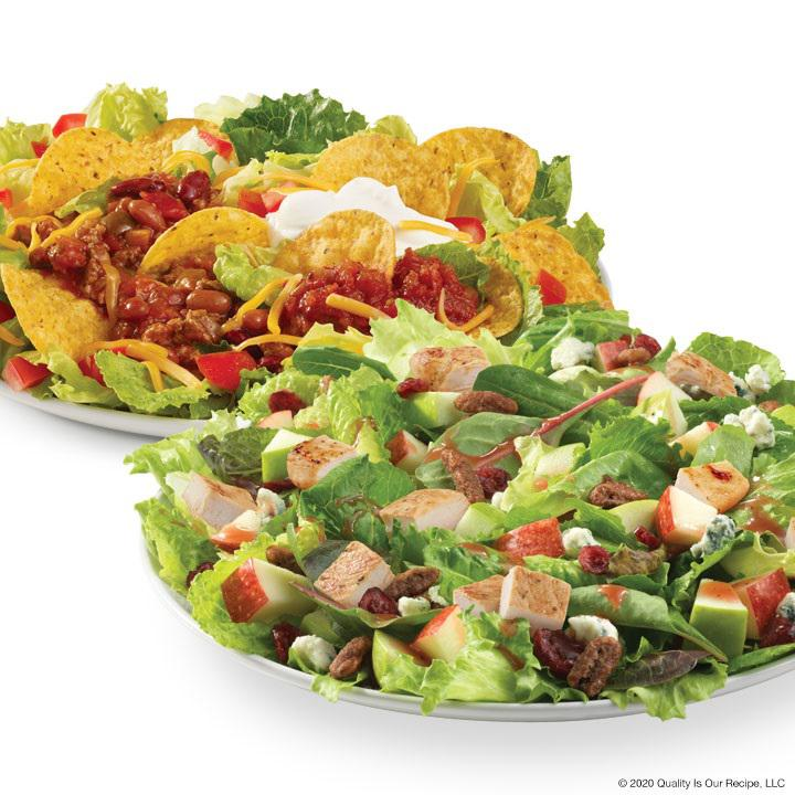 Wendy's Taco Salad and Apple Pecan Chicken Salad Wendy's Freehold (732)303-8443